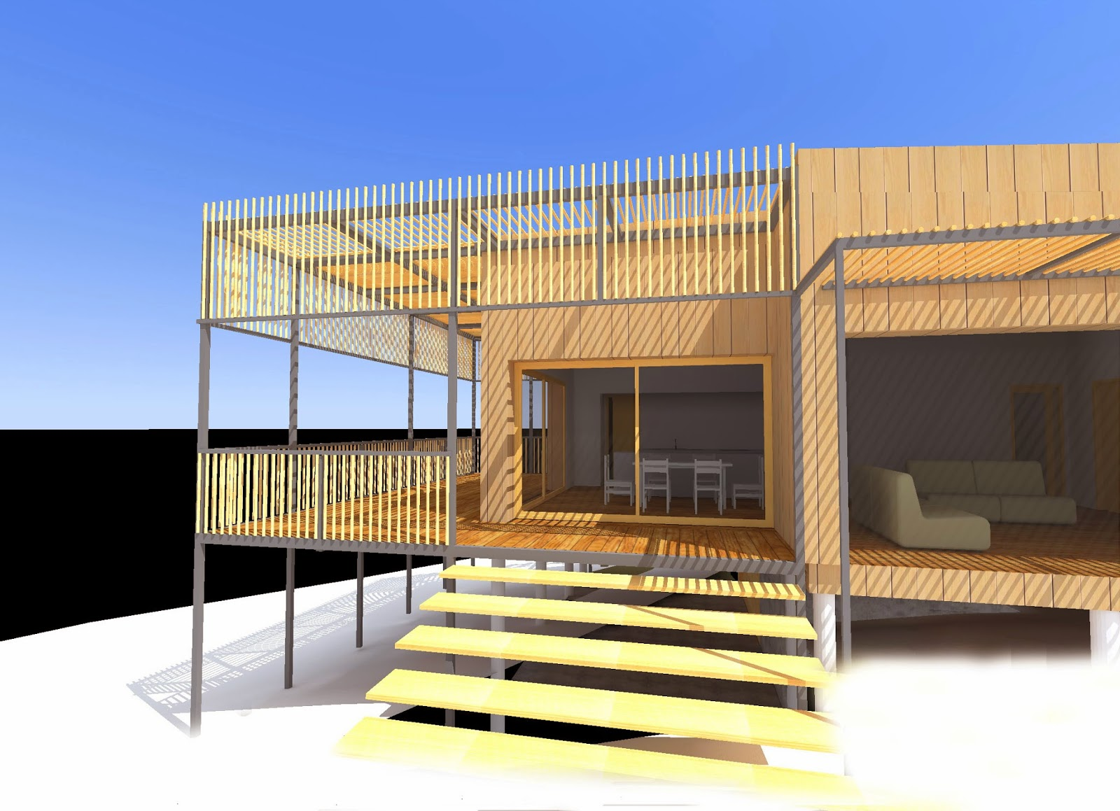 virginie farges architecture cologique dans la canope. Black Bedroom Furniture Sets. Home Design Ideas