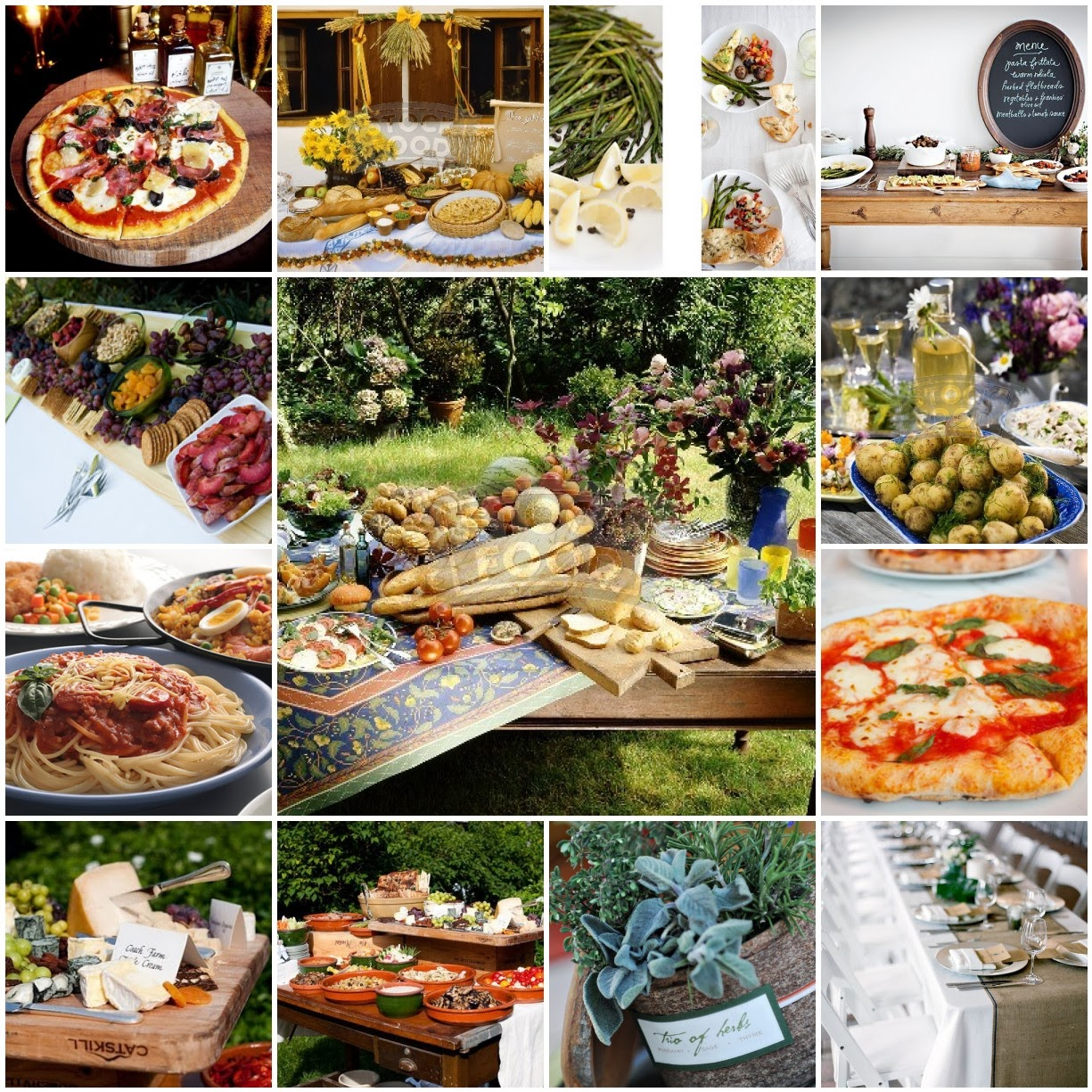 Catering Food For Wedding: Italian Wedding