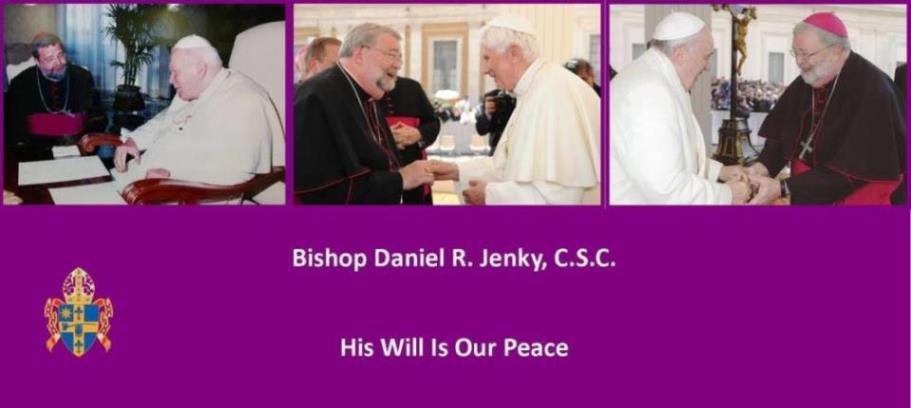 Bishop Daniel R  Jenky, CSC: February 2013