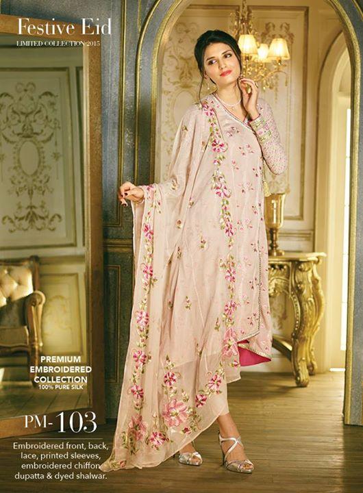 2762675e44 Gul Ahmed Festive Eid Limited Collection 2015 For women | Fashion Galaxy