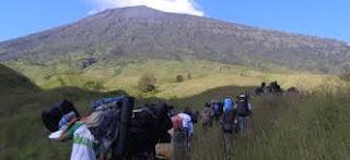 paket mendaki murah gunung Rinjani