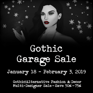 Gothic Garage Sale