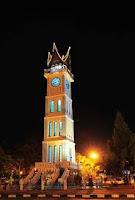 Jam Gadang, The Landmark of Bukittinggi City West Sumatera