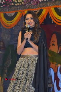 Actress Pragya Jaiswal Stills in Black Dress at Om Namo Venkatesaya Audio Launch Event  0042.JPG