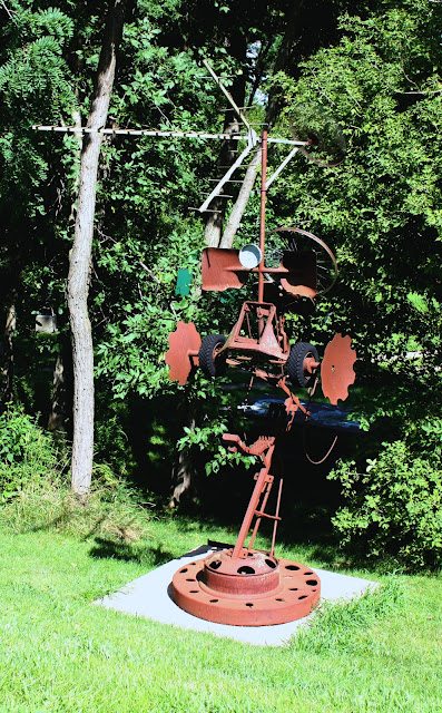 West Street Sculpture Park in Galena takes art outside.