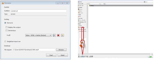 Cara Merekam Layar Windows Dengan Aplikasi  Video Player VLC