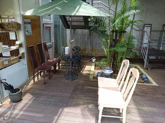 てぃあんだーの喫煙スペースの写真