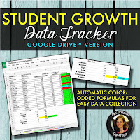 Track student growth easily https://www.teacherspayteachers.com/Product/Student-Growth-Data-Tracker-Google-Drive-3267537?utm_source=traceeorman.com&utm_campaign=GoogleClass%20post