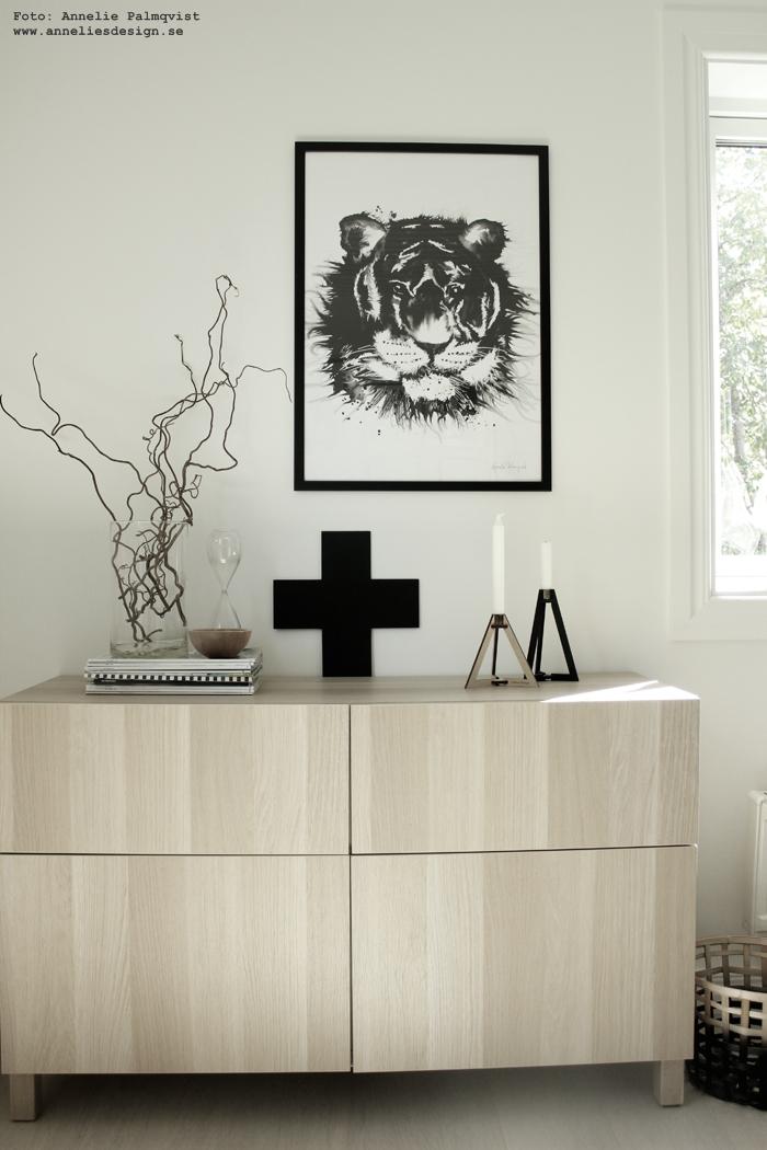 ljusstake, kors, tiger, tavla, tavlor, poster, posters, print, prints, konsttryck, ljusstakar, böset, annelies design, webbutik, nätbutik, online,