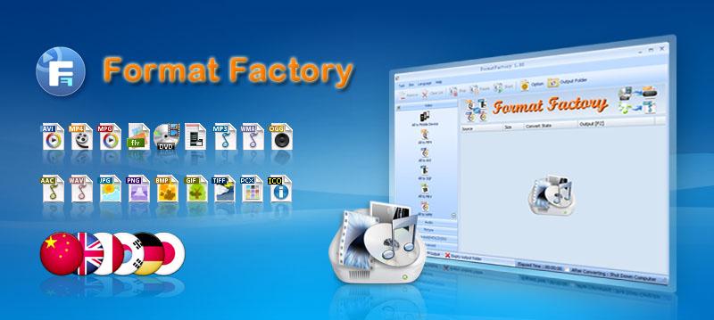 جديد برنامج Format Factory 5.2.1.0