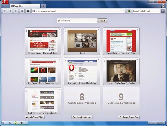 تطبيق أوبرا أخر اصدار النسخة الاصلية