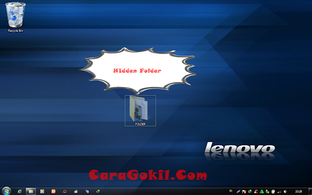 hidden Folder Di Pc/Laptop