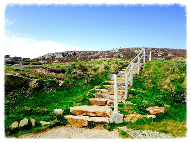 Steps at South Stack