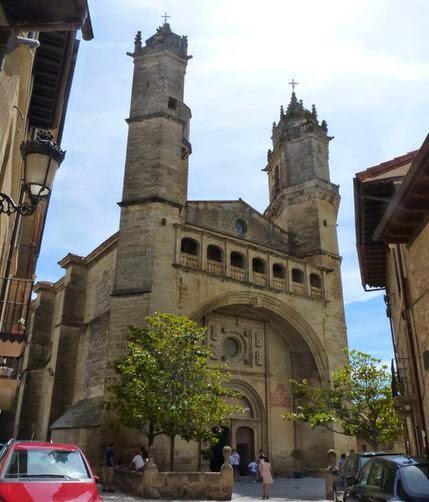 Exterior de la Iglesia Parroquial de San Andrés.