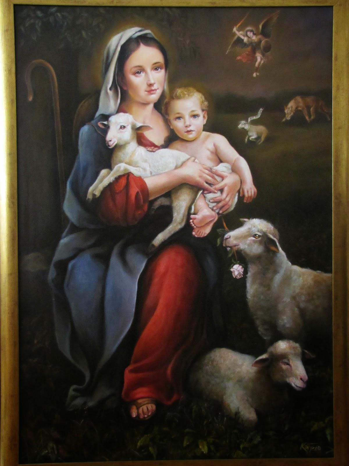 Resultado de imagen para madre del buen pastor