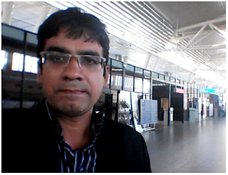 Rakesh Rai at Sofia Airport