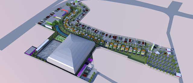 Site Plan Sport Center