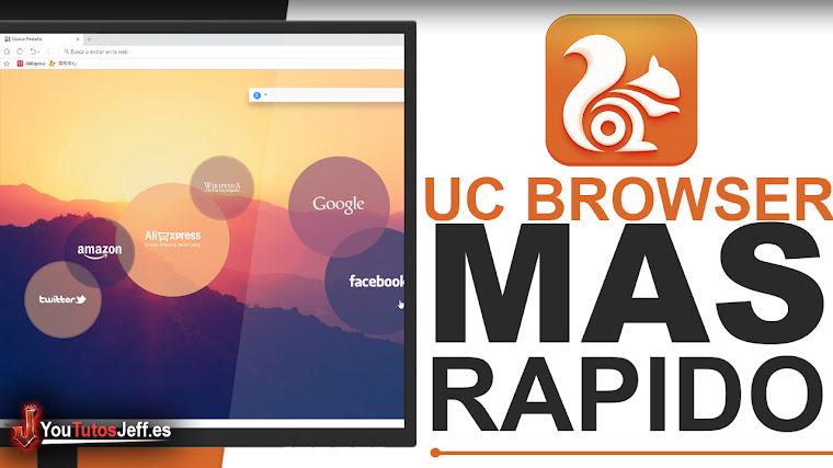 Como Descargar UC Browser Ultima Versión Español - El Navegador mas Rápido
