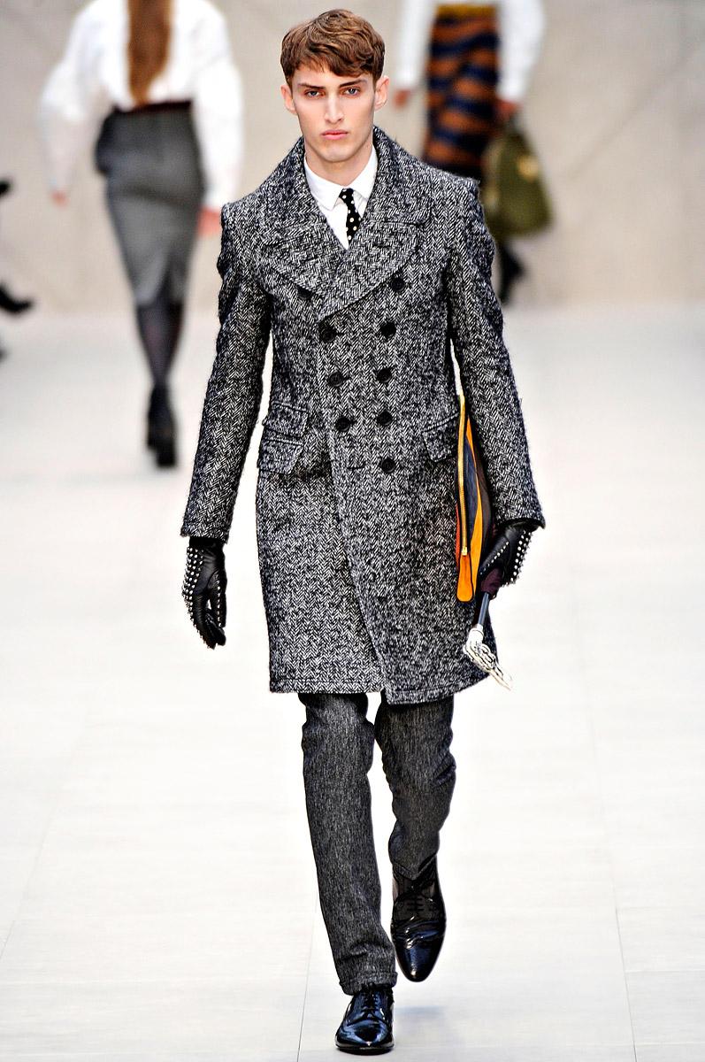 Burberry Prorsum Runway London Fashion Week Aw14: COOL CHIC STYLE To Dress Italian: Burberry Prorsum Fall 2012