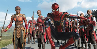 """Avenger 4"" is exposed to new materials Spider-Man or will join the black panther wakanda camp"