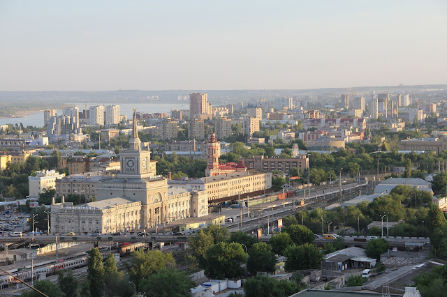 Volgograd Oblast Cool and Beautiful Russian City Russia HD Wallpaper