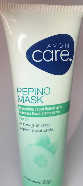 mascara de pepino avon