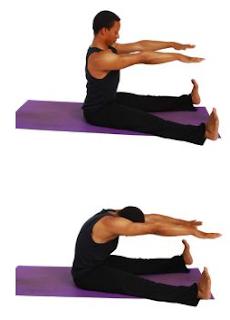 Cara meninggikan badan dengan Spin Stretch Forward