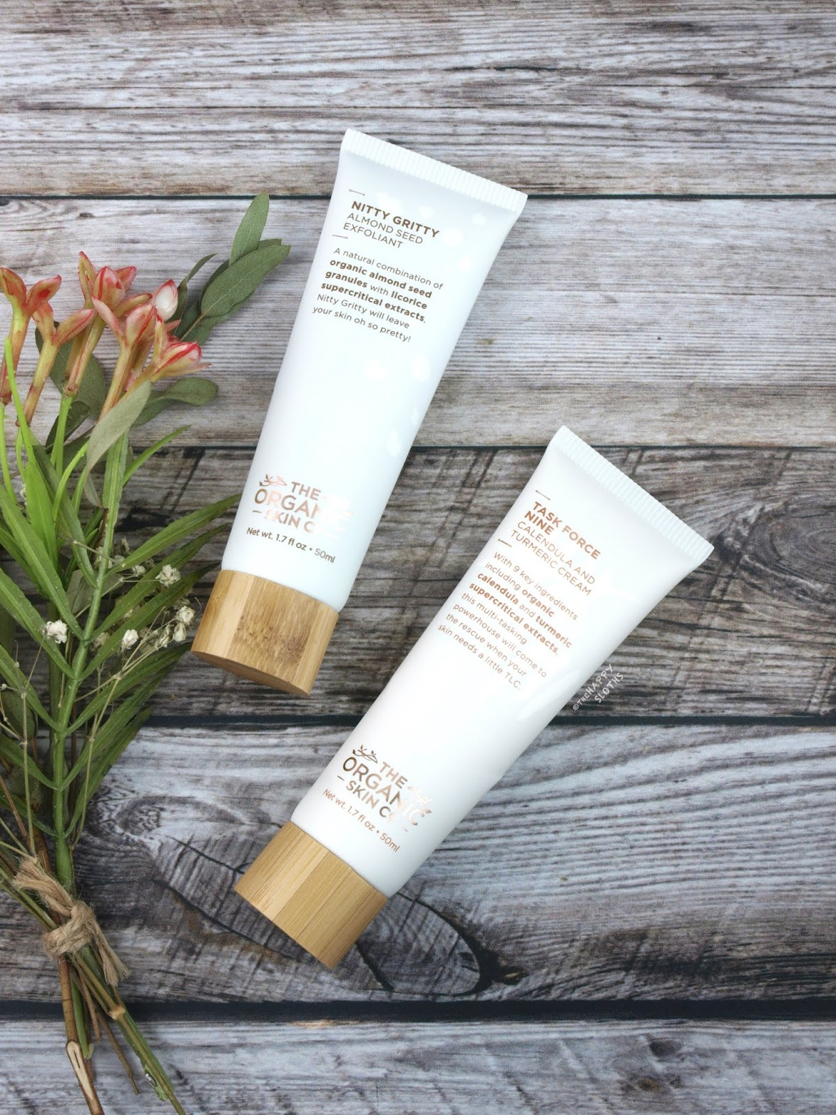 The Organic Skin Co | Nitty Gritty Almond Seed Exfoliant & Task Force Nine Calendula and Turmeric Cream: Review