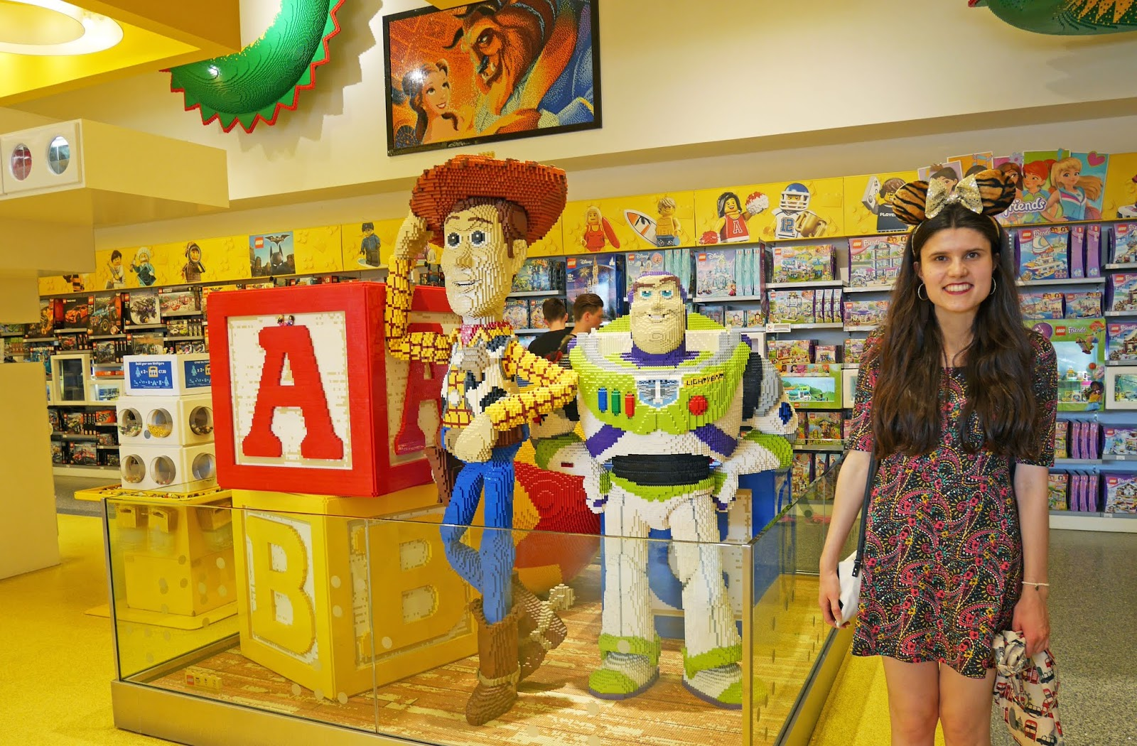 Lego Store at the Disney Village, Disneyland Paris