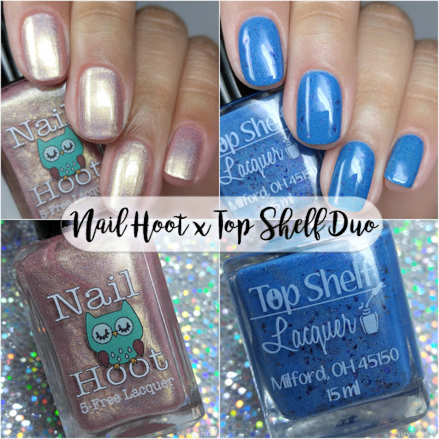 Nail Hoot and Top Shelf Lacquer Duo