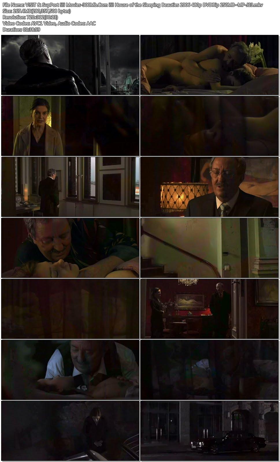[18+] House of the Sleeping Beauties 2006 480p DVDRip 250MB Screenshot