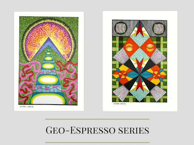 Geo-Espresso Series by Minaz Jantz