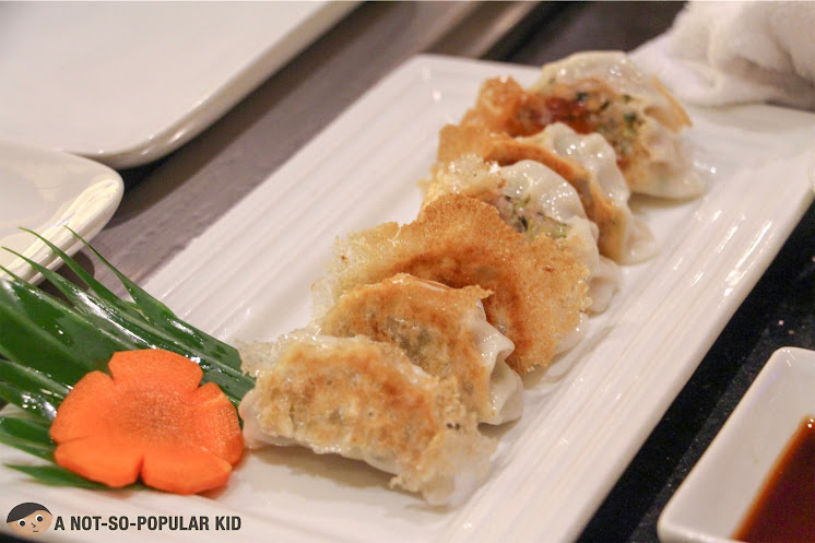 The delicious Yaki Gyoza of Kimpura Japanese Restaurant