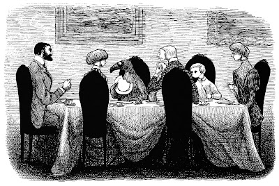 """""""The Doubtful Guest"""" - by Edward Gorey"""