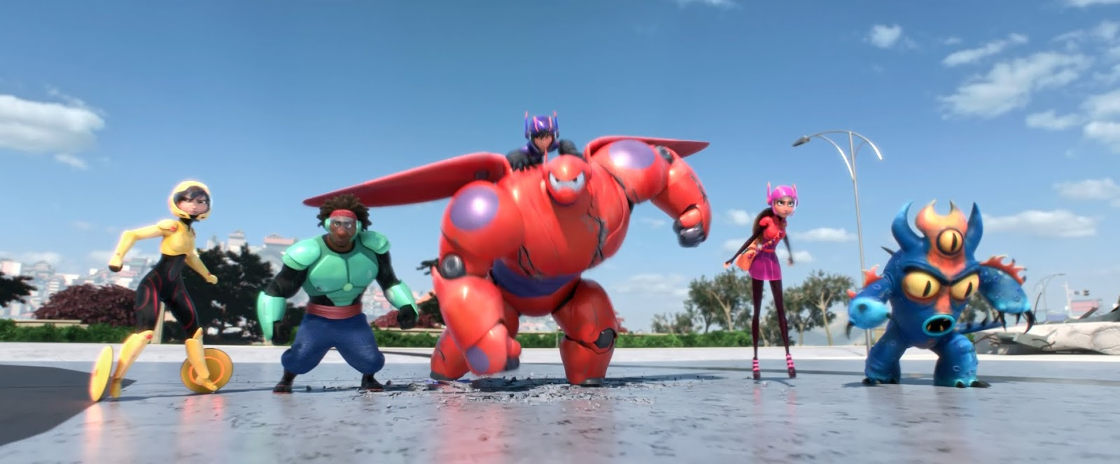 Disney XD Unveils Big Hero 6: The Series opening Scene