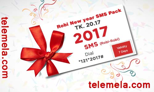 robi new year sms pack