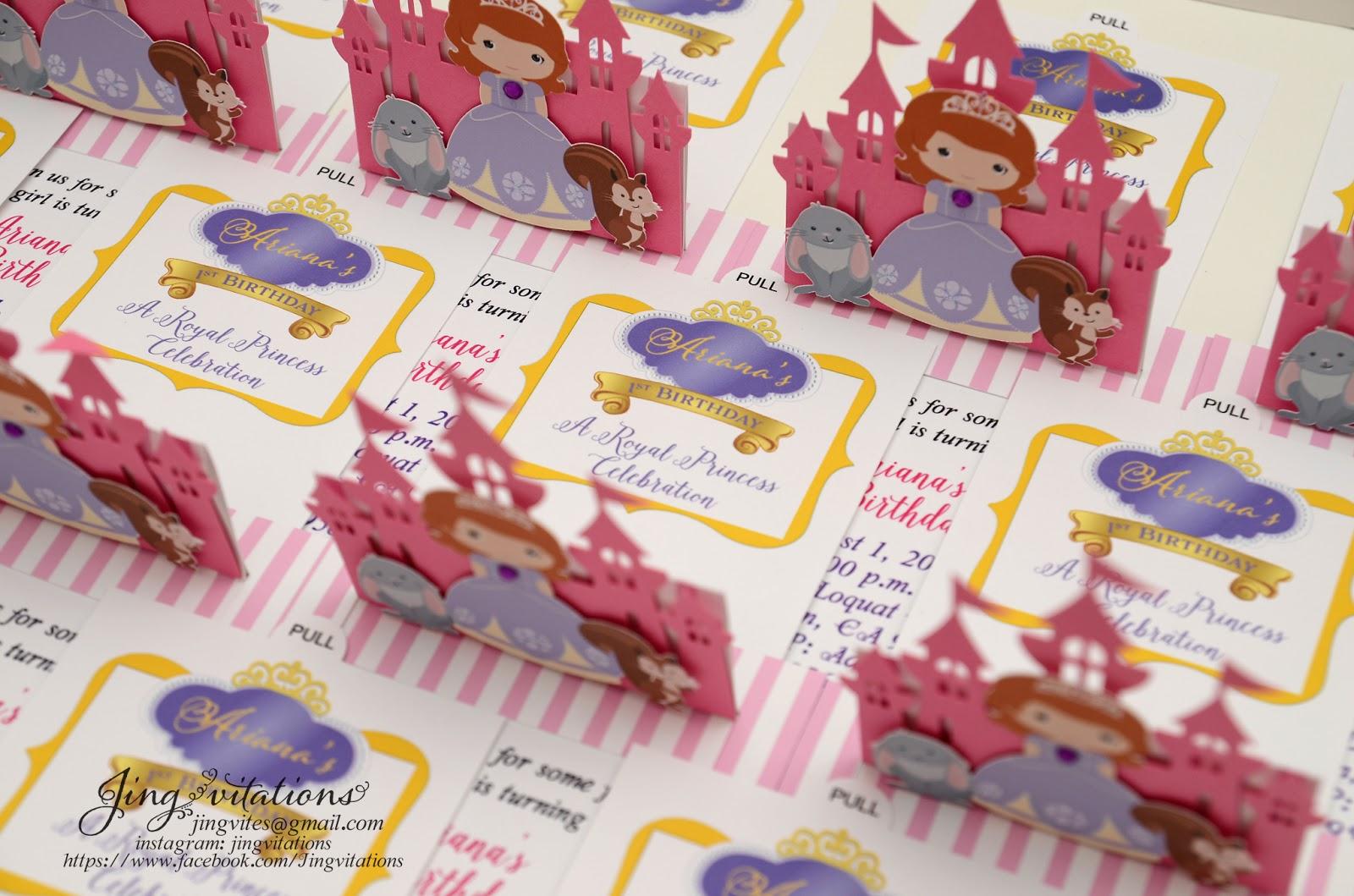 Jingvitations: birthday invitations
