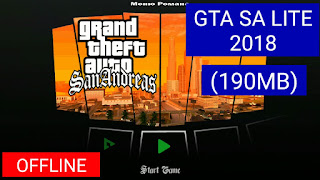(190MB) Cara Download GTA San Andreas Lite With Cleo MOD | All GPU | Support All Android Devices 2018