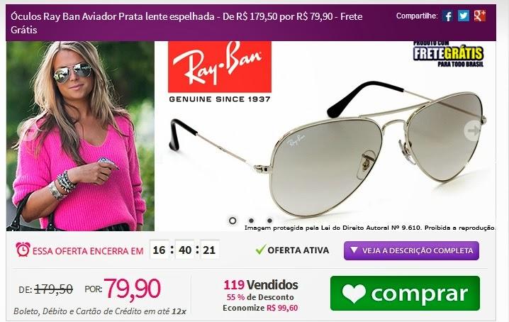 b20396d1ec897 Greice Brigido  Tpm de ofertas  óculos de sol em oferta