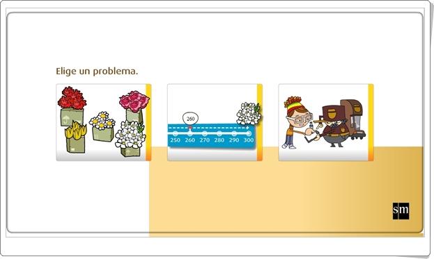 """""""Resuelve problemas"""" (Actividad interactiva de resolución de problemas matemáticos de Primaria)"""