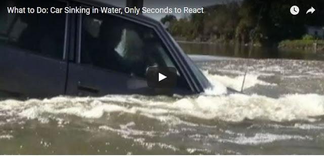 Cara Selamatkan Diri Apabila Kereta Tenggelam Ke Dalam Sungai