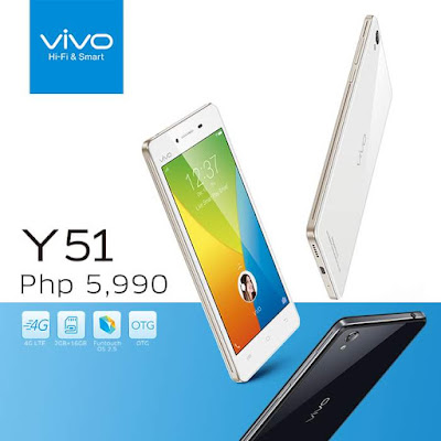 Vivo Y51 Smartphone Down To Php 5 990