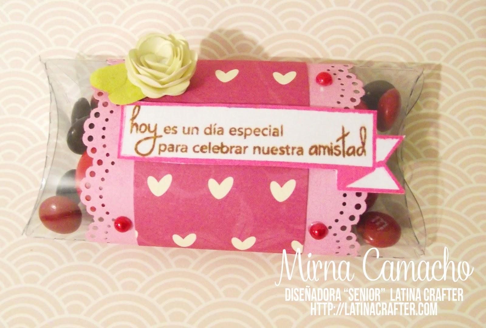 Latina crafter sellos en espa ol hoy es un d a especial - Regalos faciles y rapidos ...