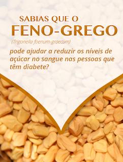 Benefícios da SEMENTE DE FENO-GREGO