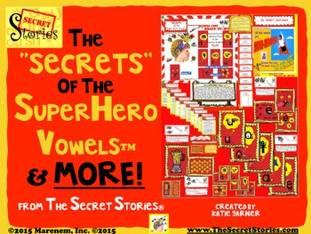 "Secret Stories® ""SECRETS of the Superhero Vowels® & More!"" Bundle"