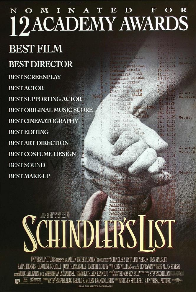 فیلم دوبله: فهرست شیندلر (1991) Schindler's List