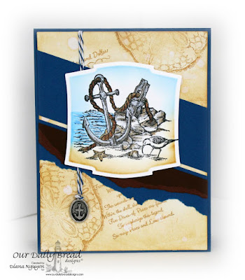 Diana Nguyen, Our Daily Bread Designs, nautical, masculine, card, anchor