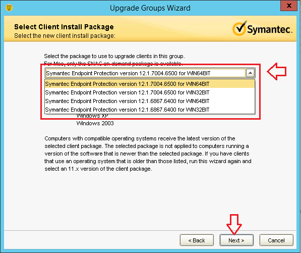 Symantec endpoint protection manager 12 clients not updating