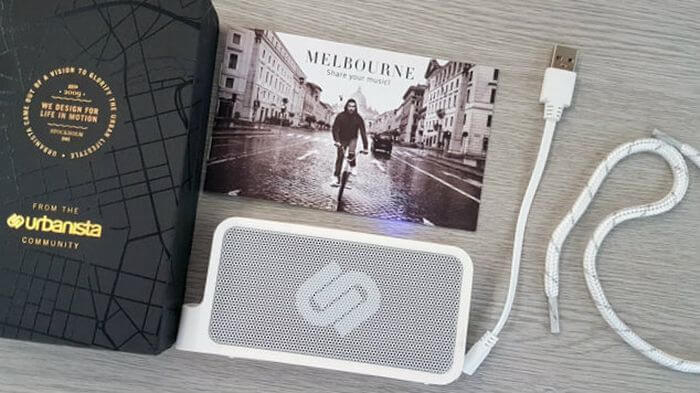 Review Urbanista Melbourne test: Bluetooth speaker for the case