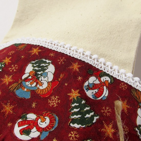 Snowmen Christmas stocking, носок для подарков